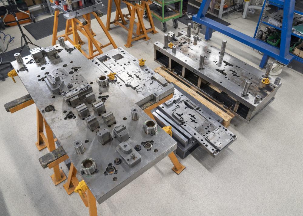 Konstrukcja oraz produkcja narzędzi formujących